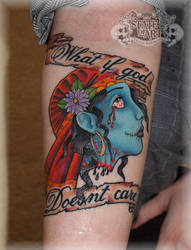 Gypsy Head 2 by state-of-art-tattoo