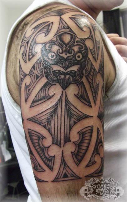 Maori Half Sleeve Tattoo: Maori Half Sleeve By State-of-art-tattoo On DeviantArt