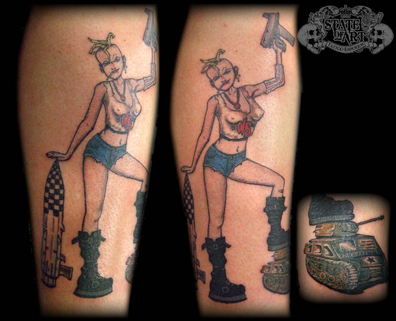 Tank Girl By State-of-art-tattoo On DeviantArt