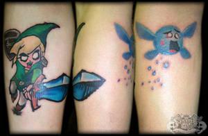 Zelda by state-of-art-tattoo