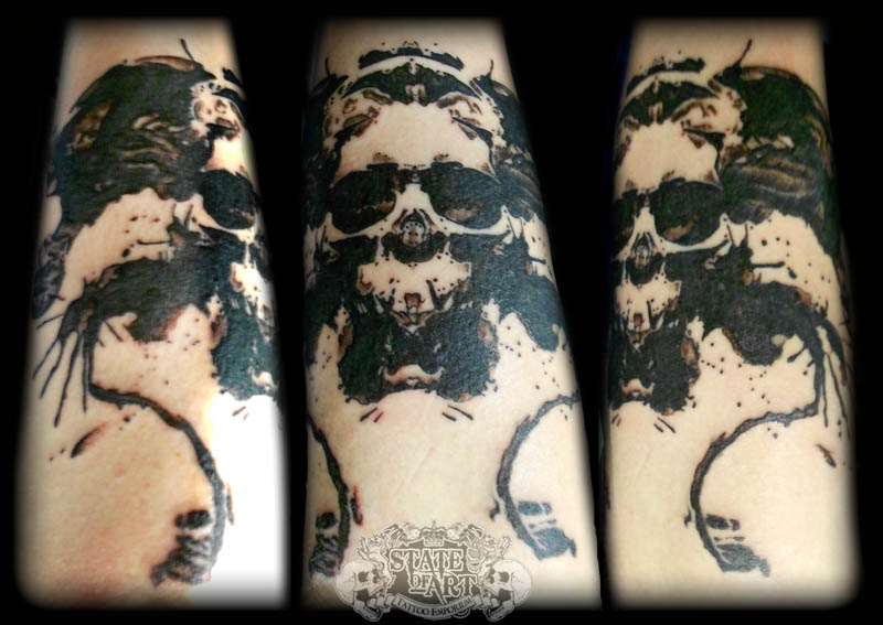 Ink Skull by state-of-art-tattoo