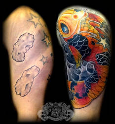 Koi cover up by state-of-art-tattoo