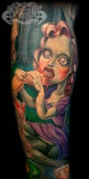Zombie Girl by state-of-art-tattoo