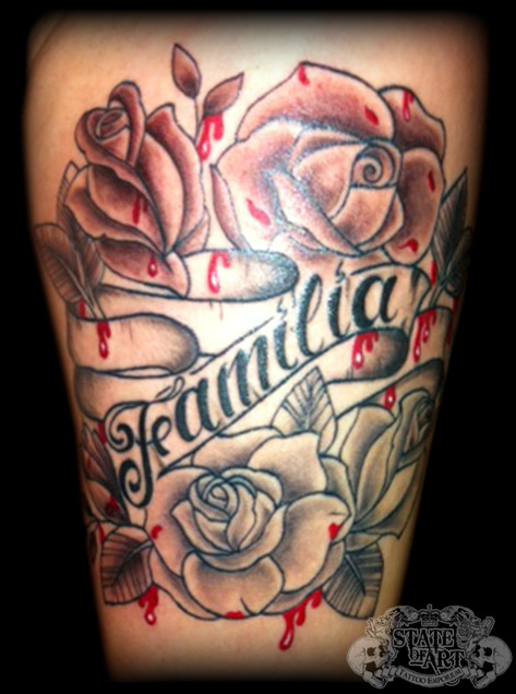 39 familia 39 by state of art tattoo on deviantart