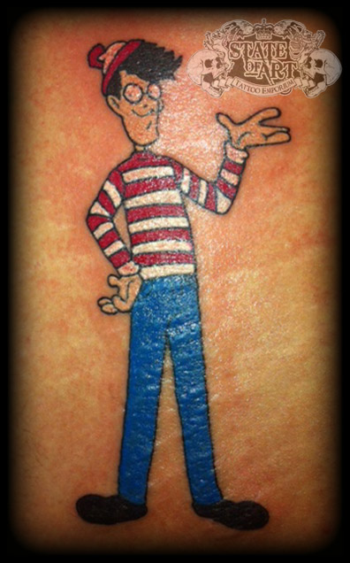 Wally by state-of-art-tattoo