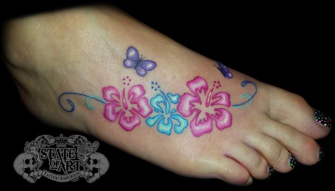 foto de Hibiscus design by state-of-art-tattoo on DeviantArt