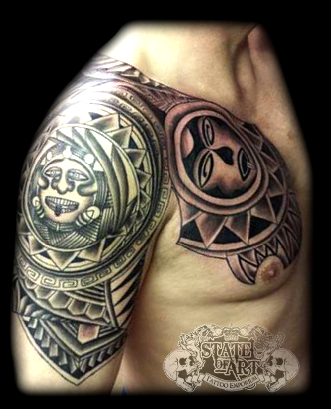 Polynesian by state of art tattoo on deviantart for State of the art tattoo