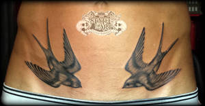 Swallows by state-of-art-tattoo