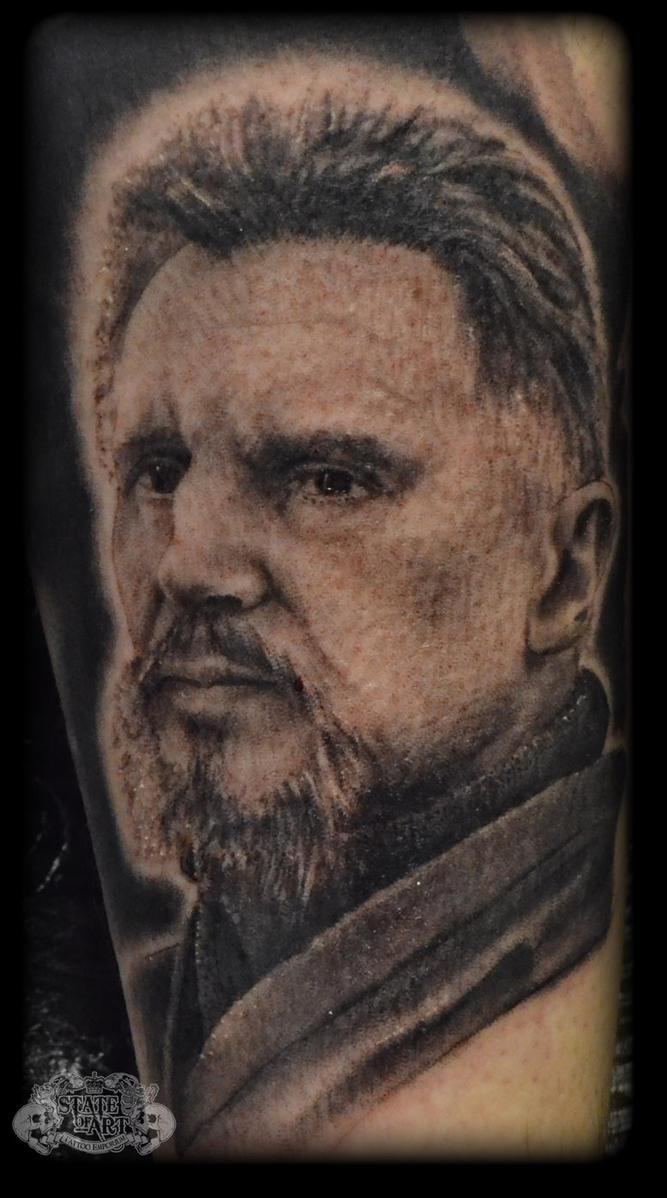 Ra 39 s al ghu by state of art tattoo on deviantart for Best tattoo artist in alabama