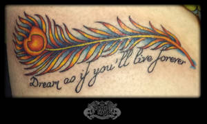 Feather by state-of-art-tattoo