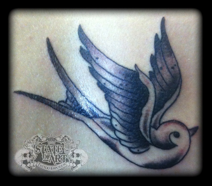 Swallow by state of art tattoo on deviantart for State of the art tattoo