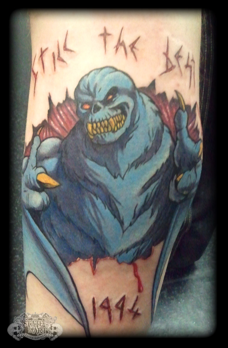 Demon by state of art tattoo on deviantart for State of the art tattoo