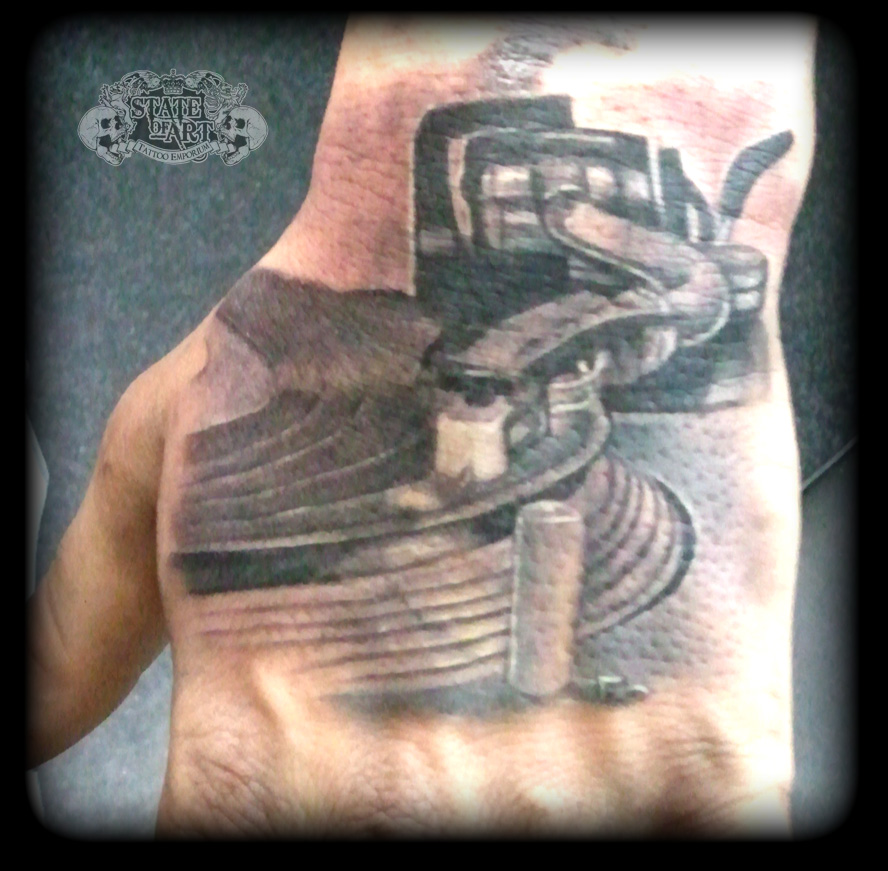 Turntable By State Of Art Tattoo