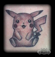 Pikachu by state-of-art-tattoo