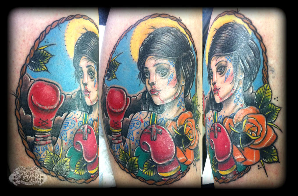 Boxer by state-of-art-tattoo