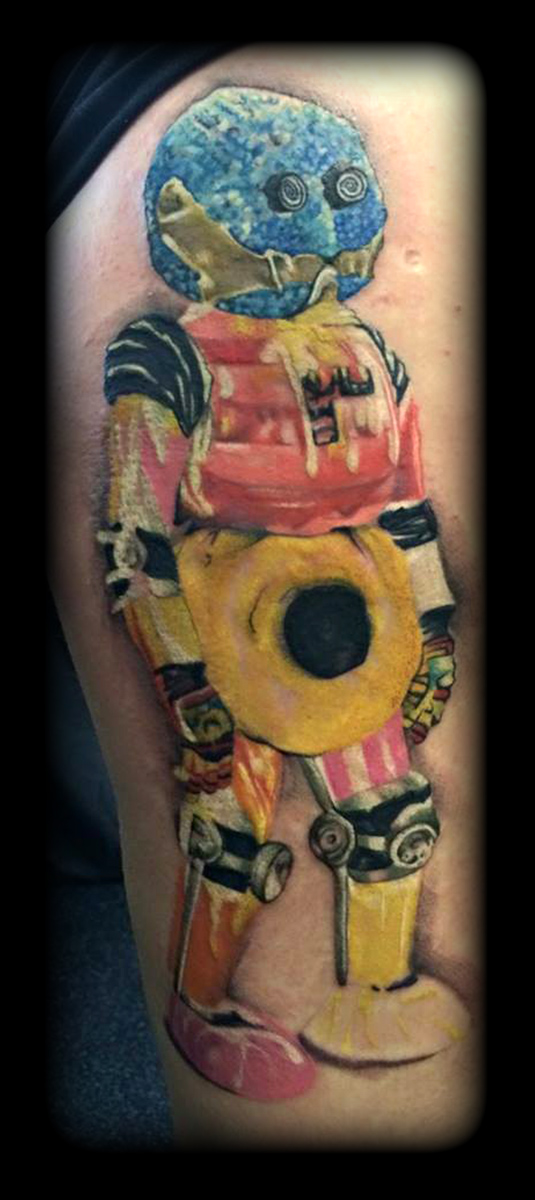 Kandy man by state of art tattoo on deviantart for State of the art tattoo
