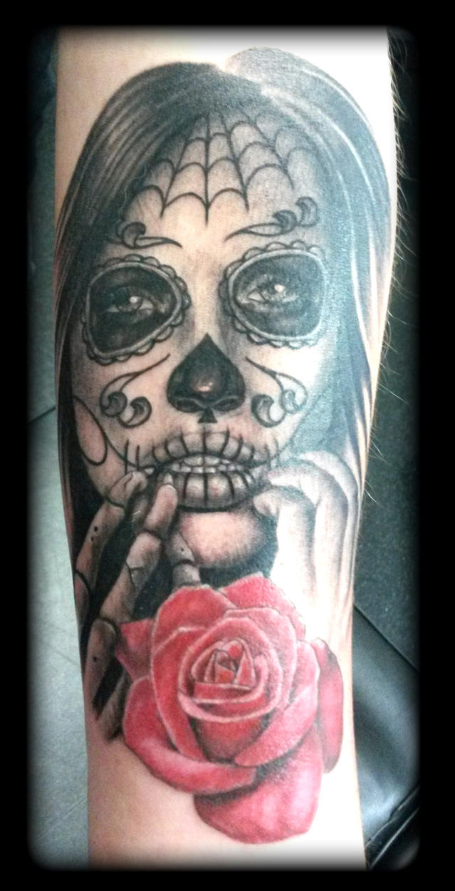 Day of dead by state-of-art-tattoo