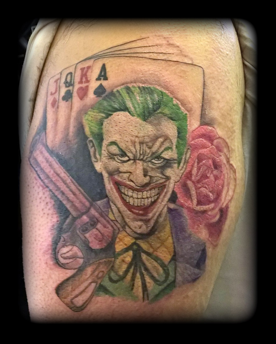 Joker by state of art tattoo on deviantart for State of the art tattoo