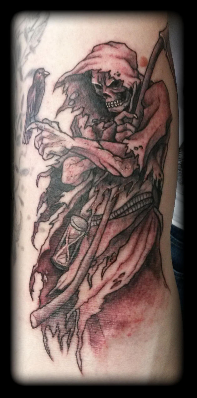 Reaper by state of art tattoo on deviantart for State of the art tattoo