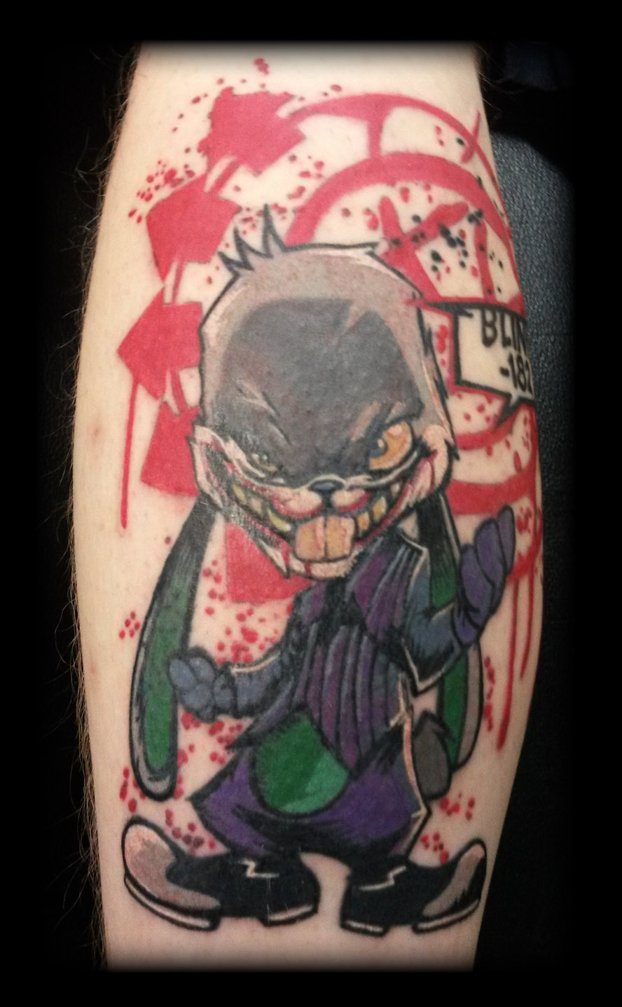 Blink 182 by state of art tattoo on deviantart for State of the art tattoo