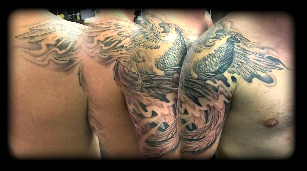 Phoenix by state-of-art-tattoo