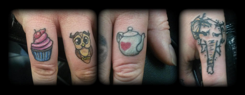 Fingers by state-of-art-tattoo