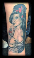 Amy Winehouse by state-of-art-tattoo