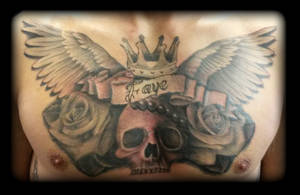 Chest by state-of-art-tattoo