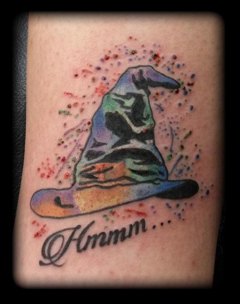 Sorting Hat by state-of-art-tattoo