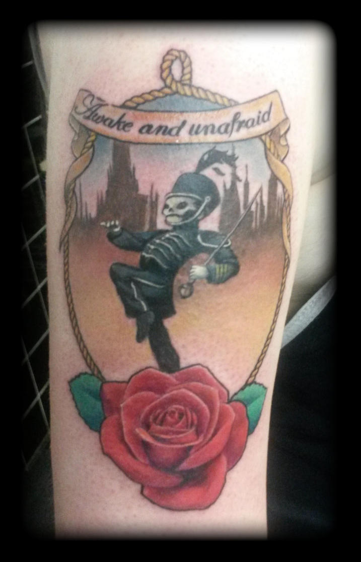 My chemical romance by state of art tattoo on deviantart for Tattoo shop etiquette