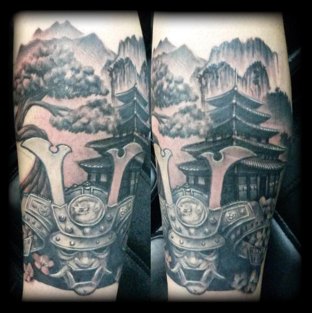 Samurai by state-of-art-tattoo