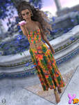 A93 - dForce BohoBeauty Outfit for G8F by Anjeli93