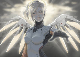 Mercy by KUMANZART