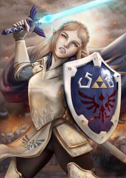 Armored Zelda - War