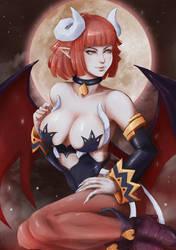 Demon Priere by KUMANZART