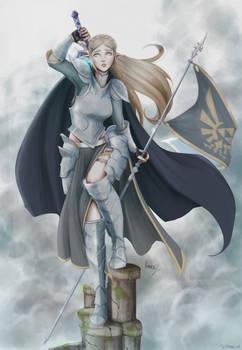 Armored Zelda - Sky