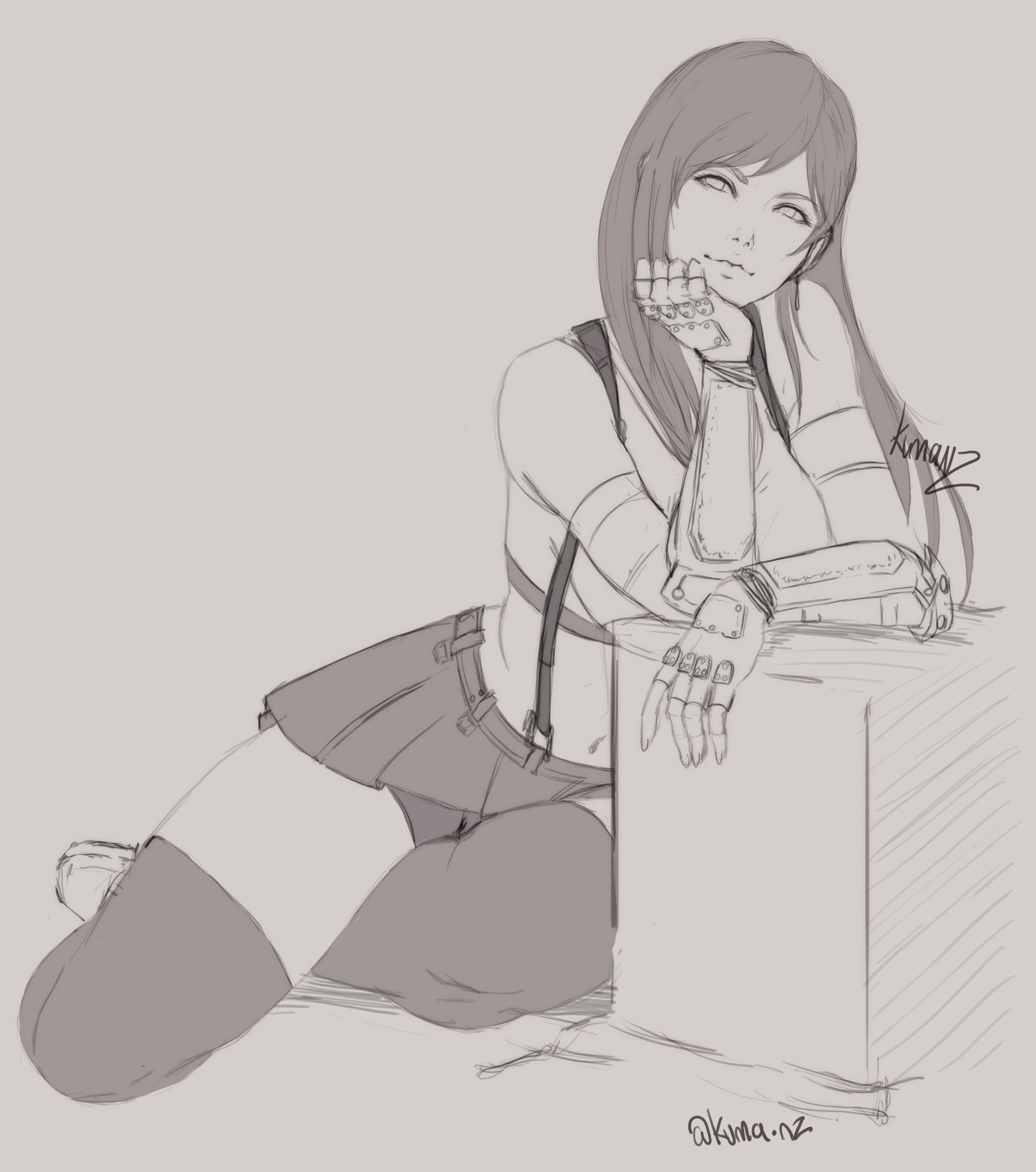 Tifa Lockhart - FF7 Remake sketch