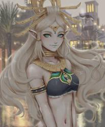 Zelda (Riju costume swap)