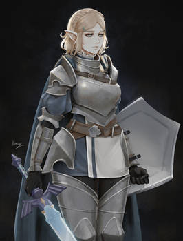 Armored Zelda - Dark