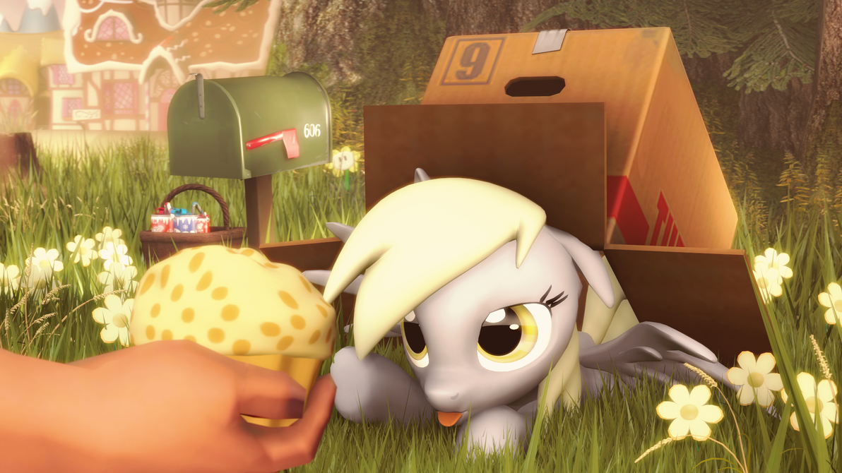 You want a muffin? by D3athbox
