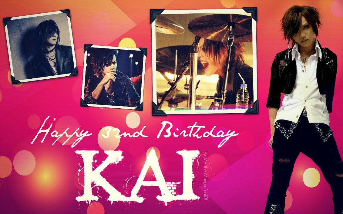 HAPPY 32ND BIRTHDAY KAI!!! by Me-The-Manga-Fan101