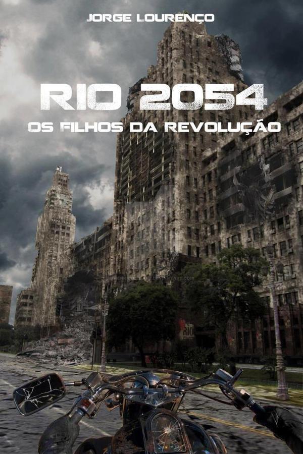 Rio 2054 Book Cover. by Henrique3DArt
