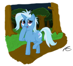 Trixie in the Everfree Forest