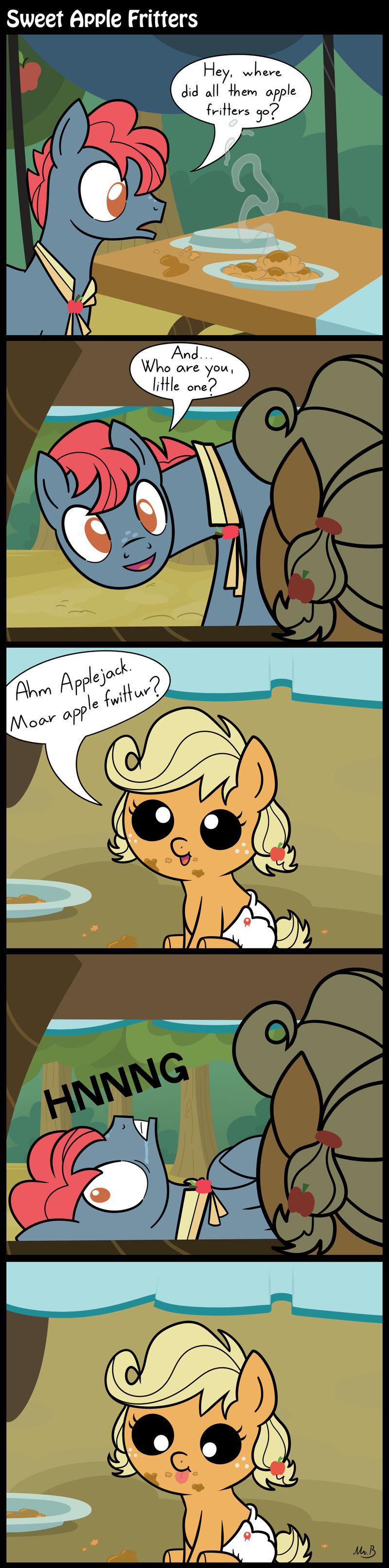 Sweet Apple Fritters by MrBastoff