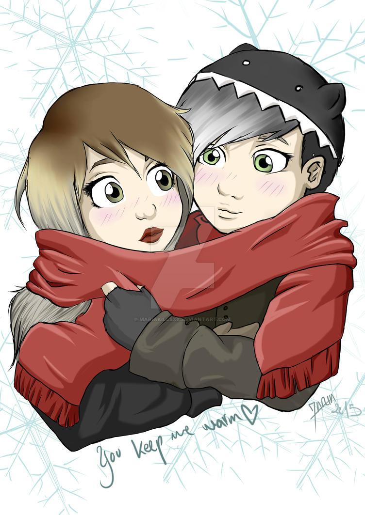 She keeps me warm by MariaKillsxx