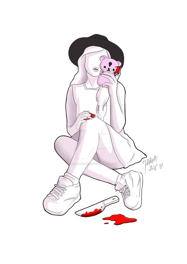 Pastel blood by MariaKillsxx