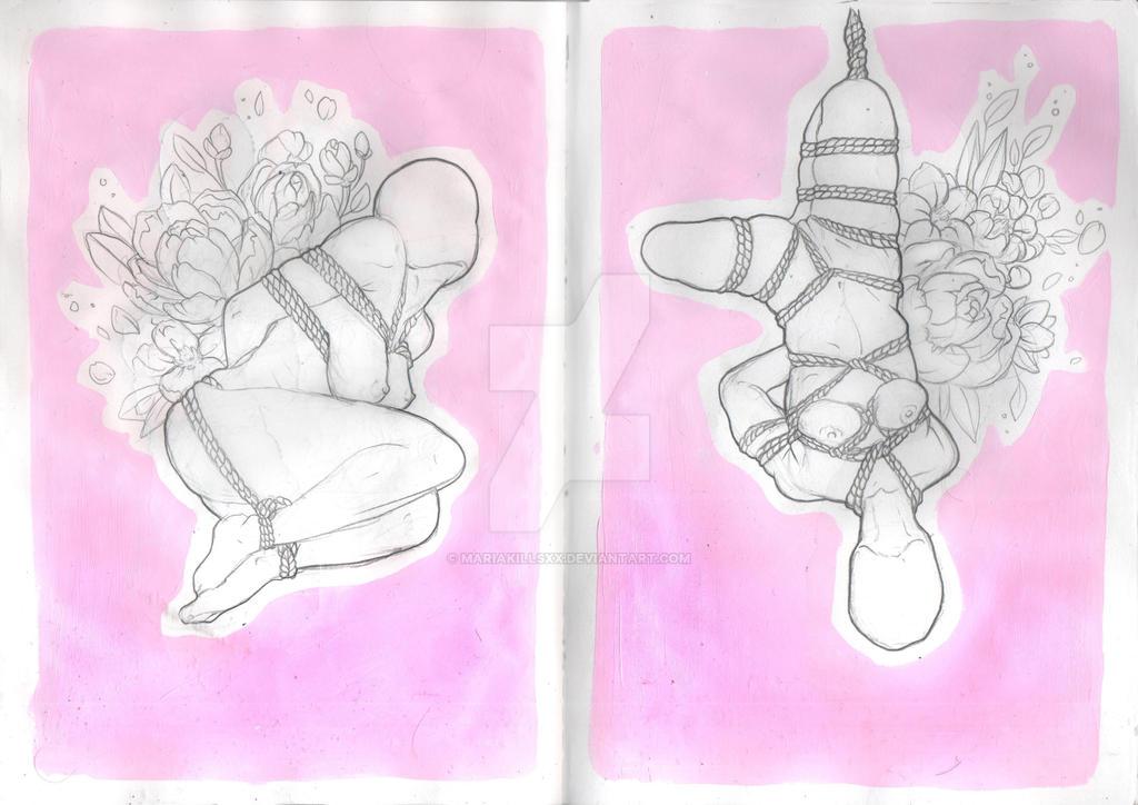 50 shades of pink 1/2 by MariaKillsxx