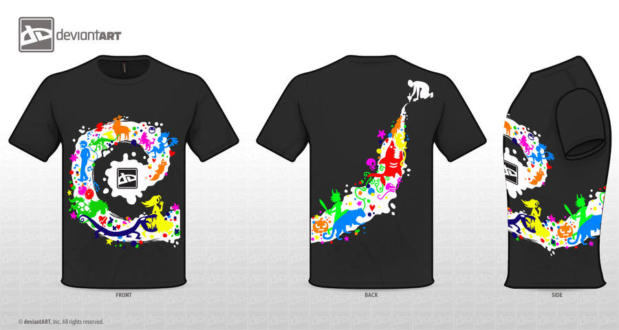 My T-shirt design by QueenOfTheAntz
