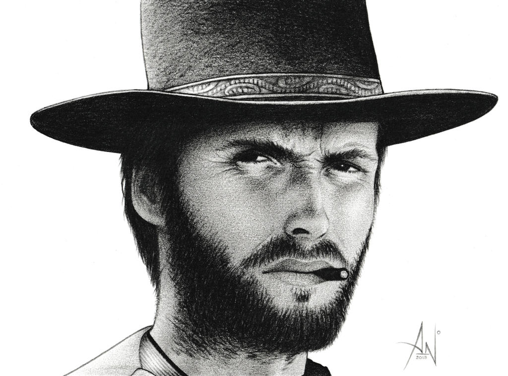 Clint Eastwood - Portrait by A--Nonyme