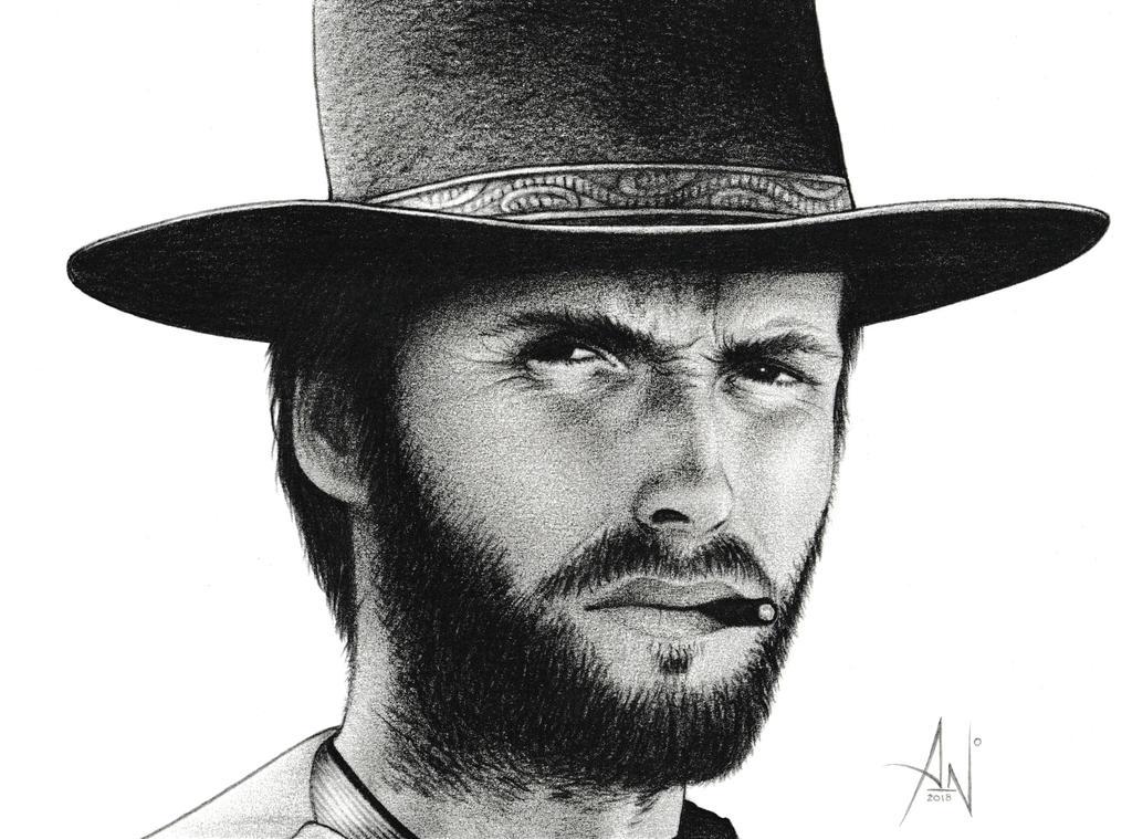 Clint Eastwood - Portrait by A--Nonyme